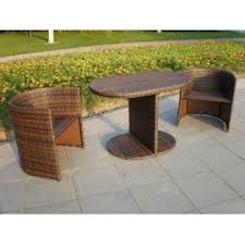 5 piece wicker patio dining set plascoline outdoor furniture