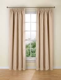 How To Fit Pencil Pleat Curtains Bantry Weave Pencil Pleat Curtains M U0026s