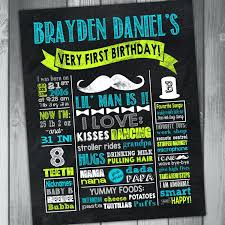 little man birthday invitations chalkboard sticker label chalkboard first birthday invitation with