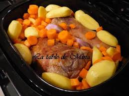 cuisiner jarret de veau jarret de veau cuisson douce à la mijoteuse de mamina13