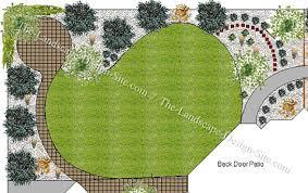 Stunning Backyard Landscape Design Plans Garden Design With - Landscape backyard design