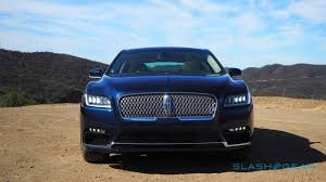 2017 Lincoln Continental First Drive How To Reboot An Icon