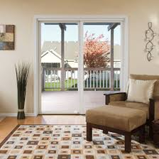 Pella Patio Doors Pella Impervia Fiberglass Sliding Patio Door Pella