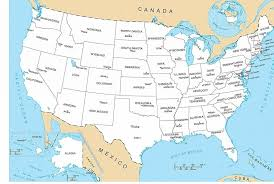 map of usa states and capitals and major cities map usa states 50 states with cities major tourist