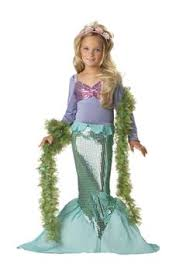 Halloween Costumes Girls Age 5 Child Age 5 7 Pink Mermaid Fancy Dress Costume