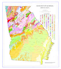 Savannah Ga Map Geologic Map Of Georgia U S State Wikiwand