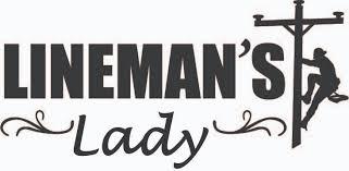 Lineman Barn Decals Lineman U0027s Lady Decal Long