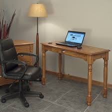 Solid Computer Desk Country Solid Oak Office Computer Desk 43 The Oak Furniture Shop