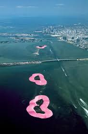 Map Of Islands Off The Coast Of Florida by Christo And Jeanne Claude Projects Surrounded Islands