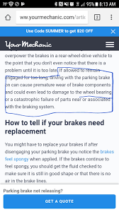 What Does It Mean When Your Brake Light Comes On Toyota I Drove With My Parking Brake On For 30 Mins Should I Be