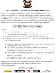 Challenge Comp 2018 Tmg Smittybilt Every Challenge Contingency Program