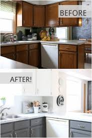 Update Kitchen Cabinets With Paint Best 25 Cheap Kitchen Updates Ideas On Pinterest Cheap Kitchen