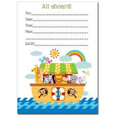 Noah S Ark Decorations Noah U0027s Ark Baby Shower Collection