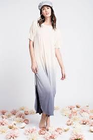 ombre maxi dress nancy ombre maxi dress oatmeal gozon boutique