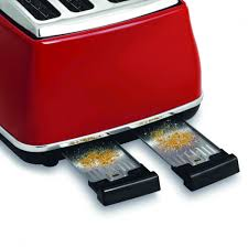 Delonghi Four Slice Toaster Delonghi 4 Slice Toaster Icona Cto 4003 Bk