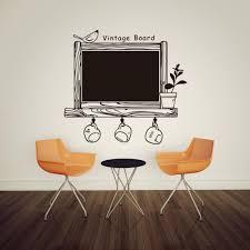 diy kitchen chalkboard decal decor classic vintage board