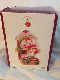 shortcake ornament carlton cards heirloom fragrance