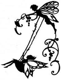fairy on swing silhouette handmade cross stitch pattern swings