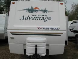 wilderness travel trailer floor plan 2005 fleetwood wilderness advantage 320dbhs travel trailer rutland
