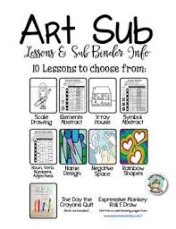 best 25 art sub plans ideas on pinterest abstract paper example