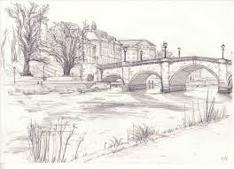 How To Draw Landscapes by Easy Landscape Drawing Fleagorcom