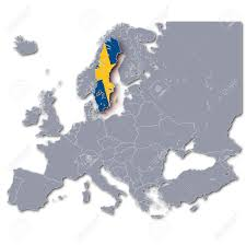Map Sweden Europe Map Sweden Stock Photo Picture And Royalty Free Image