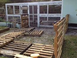 pallet project build a cheap chicken run attainable sustainable