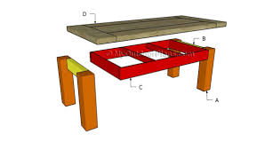 coffee table plans myoutdoorplans free woodworking plans and
