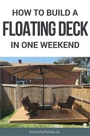 Home Depot Deck Design Pre Planner by How To Build A Floating Deck The Home Depot Floating Deck