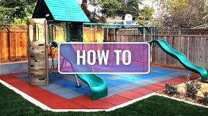 how to install playground tiles by flooringinc youtube