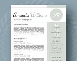 resume template with picture modern resume template for word 1 3 page resume cover