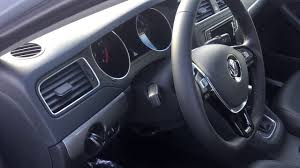 volkswagen jetta 2017 interior 2017 volkswagen jetta se titan black interior youtube