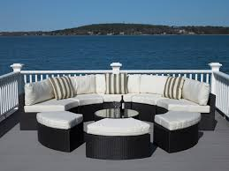 modern drink table stunning modern furniture on a budget with circular shape woven