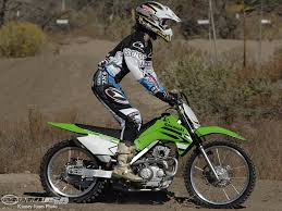 2008 kawasaki klx140 first ride motorcycle usa