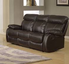3 Seater Leather Recliner Sofa Leather Recliner Sofa Set 3 2 Seater Black