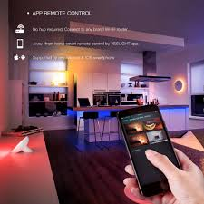 Led Strip Lights For Home by Aliexpress Com Buy Yeelight Smart Wifi Mobile Phone Control Rgb