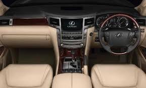 Lexus Lx Interior Pictures Ulf Models Carsmind