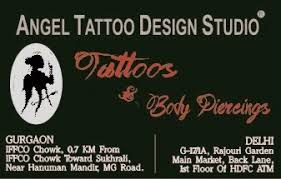 angel tattoo design studio temporary airbrush tattoo in gurgaon