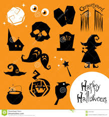 free halloween icon halloween creepy vector icons royalty free stock photo image