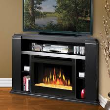 Corner Electric Fireplace Corner Electric Fireplace Tv Stand Combo Home Fireplaces