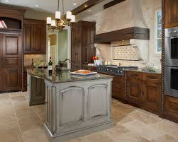 Travertine Kitchen Floor by Kitchen Travertine Floor Dark Cabinets Design Pictures Remodel