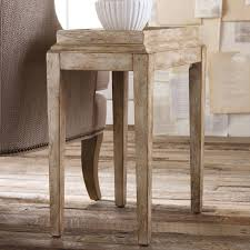 Tiny Accent Table by Hooker Furniture Melange Villa Blanca Chest Hayneedle