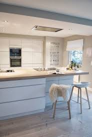 et cuisine home cuisine blanche et bois clair