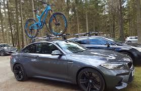 bmw 1 series roof bars m2 and bike transport