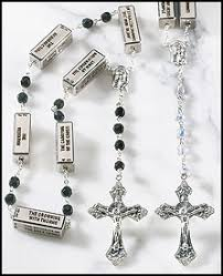 unique rosaries single decade rosaries