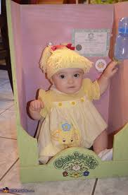 Cabbage Patch Halloween Costume Baby Cabbage Patch Doll Costume