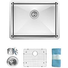 frigidaire undermount stainless steel kitchen sink 10mm radius