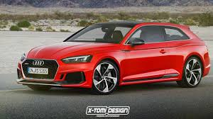 2018 audi rs5 rendered as a shooting brake cabrio and sportback