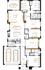 House Plan Australia 72 Single Floor House Plans Contemporary House Plans Single