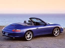 Porsche 911 Hardtop Convertible - 2003 porsche 911 carrera cabriolet blue rear angle sea 1280x960